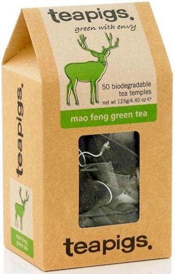 Teapigs Mao Feng Green Tea 50 teepussia