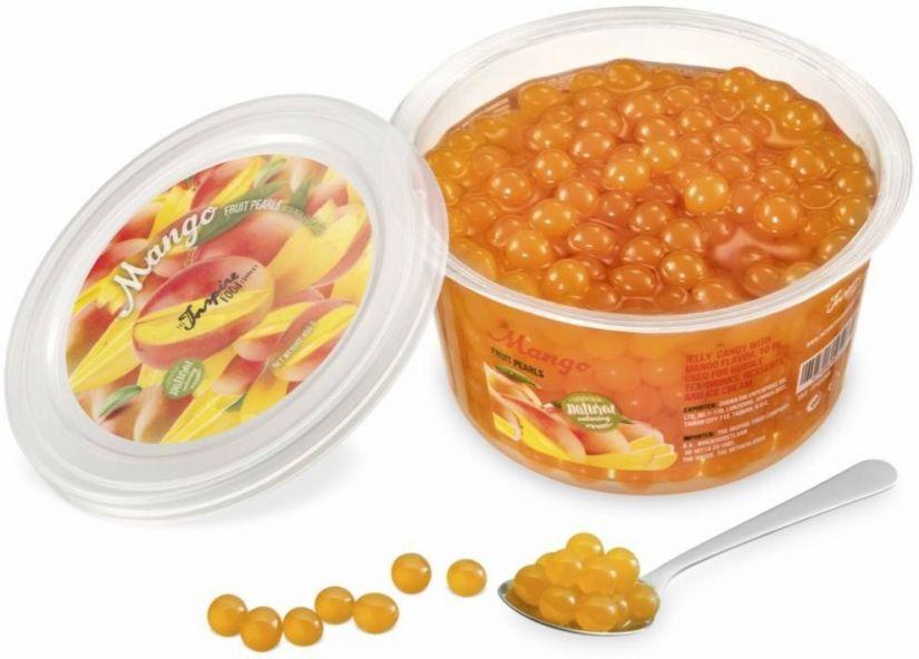 TIFC Boba Bubble Tea bubbelte-pärlor, Mango 450 g