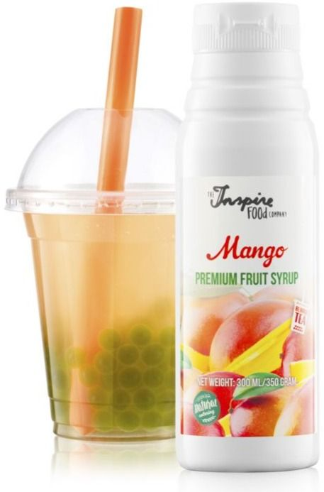 TIFC  Bubble Tea Syrup Mango 300 ml
