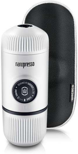 Wacaco Nanopresso  Elements Chill White - Portable Espresso Maker + Protective Case