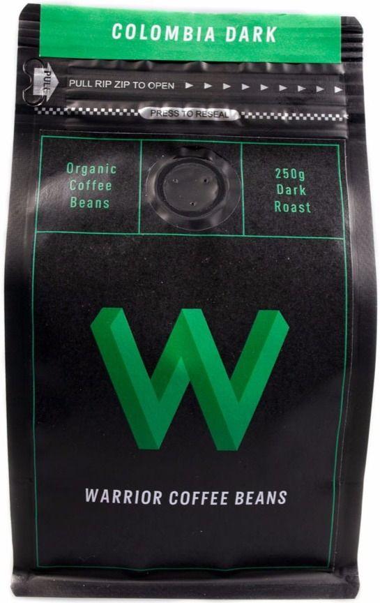 Warrior Coffee Colombia Dark 250 g coffee beans