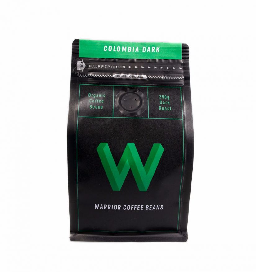 Warrior Coffee Colombia 250 g kahvipavut