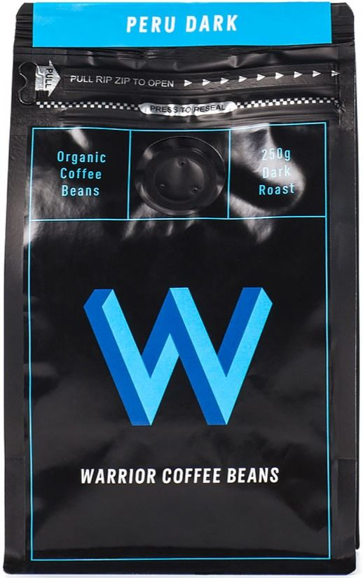 Warrior Coffee Peru Dark 250 g kahvipavut