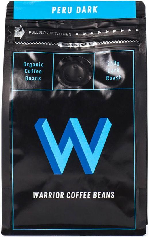 Warrior Coffee Peru Dark 250 g kaffebönor