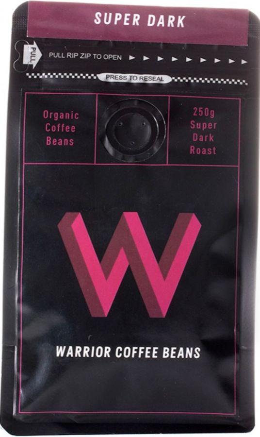Warrior Coffee Super Dark 250 g kahvipavut