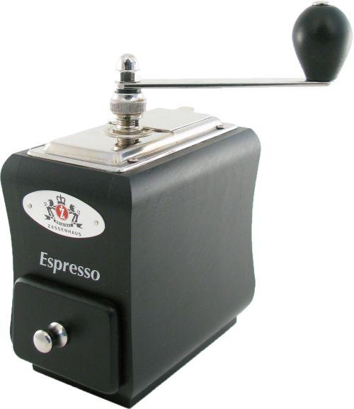Zassenhaus Santiago Espresso käsikäyttöinen kahvimylly