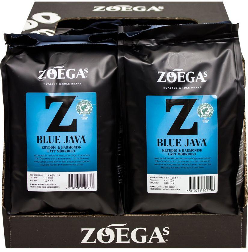 Zoégas Blue Java 8 x 450 g tukkupakkaus