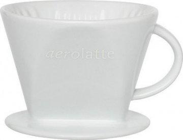 Aerolatte keraaminen suodatinsuppilo No 4