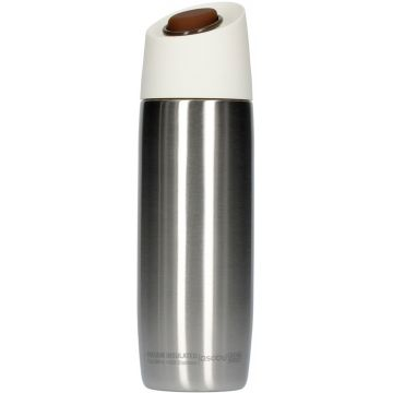 Asobu 5th Avenue Coffee Tumbler termosmugg 390 ml, silver