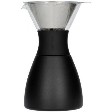 Asobu PourOver-PO300 Insulated Coffee Maker, musta/musta