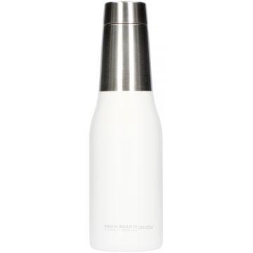 Asobu Oasis Water Bottle 600 ml, valkoinen