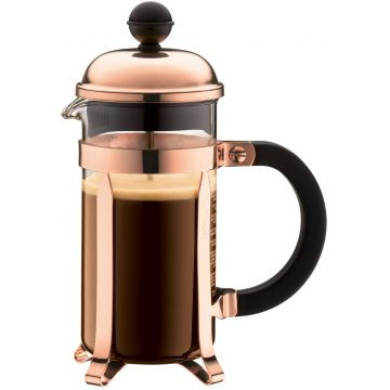 Bodum Chambord 3 cup French press coffee maker (0,35 litres) copper