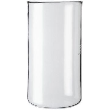 Spare beaker without spout for Bodum 8 cup press pot (1,0 liters)