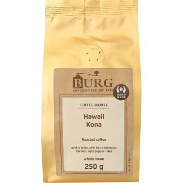 Burg Hawaii Kona 250 g kahvipapuja