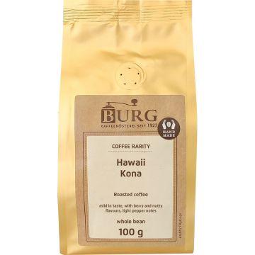 Burg Hawaii Kona 100 g kahvipapuja