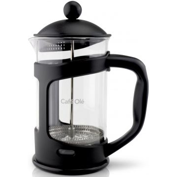 Grunwerg Café Olé Everyday Cafetiere French Press 8 Cups Black