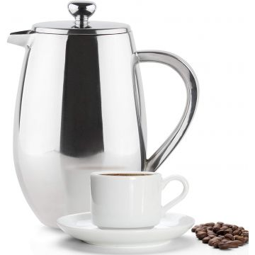 Grunwerg Double Wall Insulated French Press 800 ml
