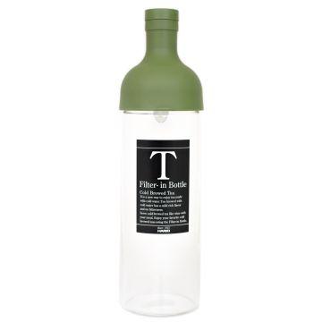 Hario Filter-in Bottle cold brew teepullo 750 ml, oliivinvihreä