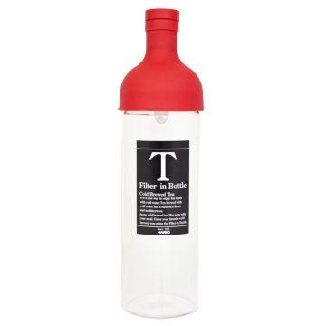 Hario Filter-in Bottle cold brew teepullo 750 ml, punainen