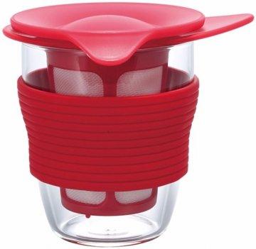 Hario Handy Tea Maker 200 ml, red