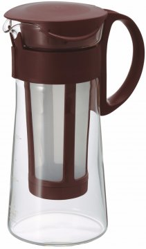 Hario Mizudashi Coffee Pot cold brew kannu 600 ml, ruskea