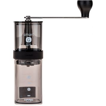 Hario Smart G käsikäyttöinen kahvimylly, tumma