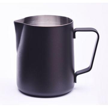 JoeFrex Powder Coated Milk Pitcher 350 ml, Black