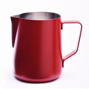 JoeFrex Powder Coated Milk Pitcher 350 ml, Red