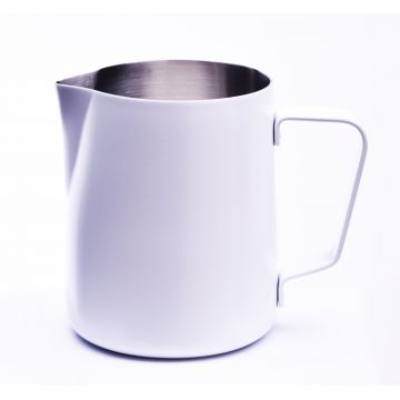 JoeFrex Powder Coated Milk Pitcher 350 ml, White