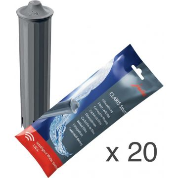Jura Claris Smart water filter cartridge 20 pcs