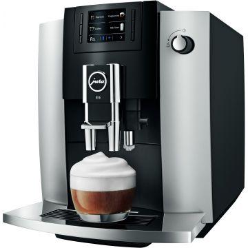 Jura E6 (EB) kahviautomaatti, Platin