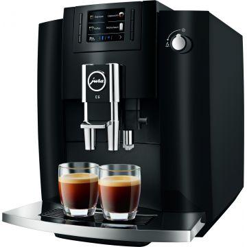 Jura E6 (EB) kahviautomaatti, Piano Black