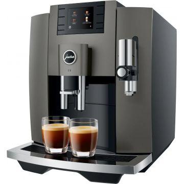 Jura E8 (EB) kahviautomaatti, Dark Inox