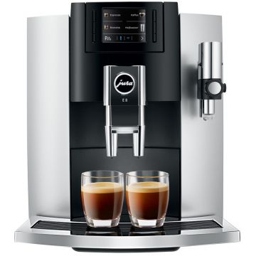Jura E8 Platinum fully automatic coffee machine