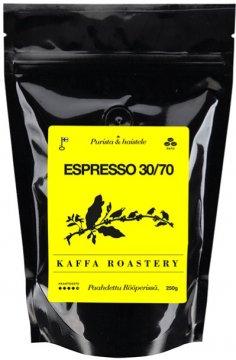 Kaffa Roastery Espresso 30/70 250 g kahvipavut