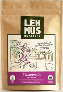Lehmus Roastery Pusupuisto kahvipavut 220 g