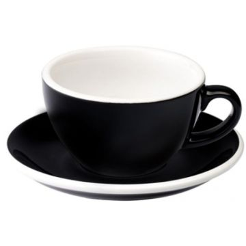 Loveramics Egg Black cappuccinokuppi 200 ml