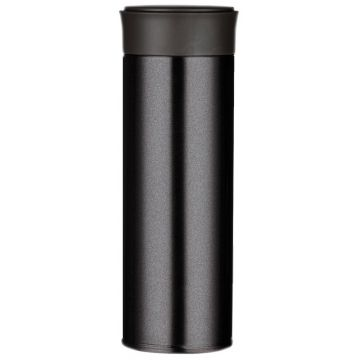 Magisso Visibility Reflective Thermos Bottle 350 ml, Onyx Black