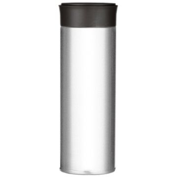 Magisso Visibility Reflective Thermos Bottle 350 ml, Pearl White