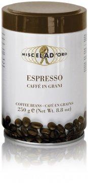 Miscela d'Oro Espresso 250 g kaffebönor i burk