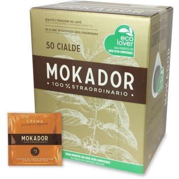 Mokador Crema espresso pods 50 st