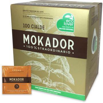 Mokador Crema espresso pods 100 st