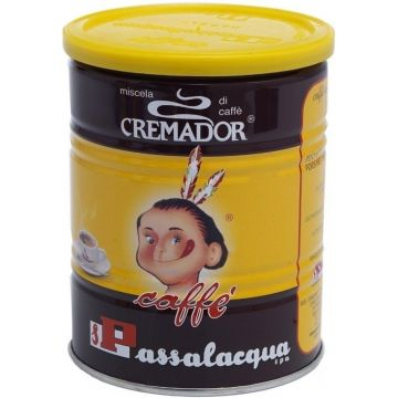 Passalacqua Cremador 250 g malet kaffe - burk