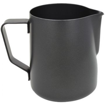 Rhinowares Stealth Milk Pitcher maidonvaahdotuskannu 360 ml, musta
