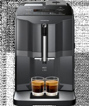 Siemens EQ.3 Series 300 -kahviautomaatti, musta