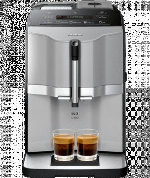 Siemens EQ.3 Series 300 kahviautomaatti, titaani