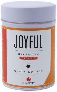 Soulful Stuff Joyful vihreä tee, purkki 100 g