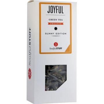 Soulful Stuff Joyful vihreä tee, 15 teepussia