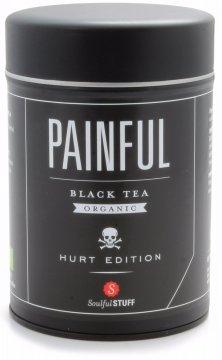Soulful Stuff Painful musta tee, purkki 160 g
