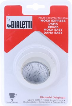 Bialetti tiivistepaketti 3 ja 4 kupin Moka Express -keittimelle